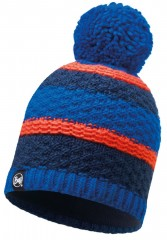 Шапка Buff KNITTED & POLAR HAT FIZZ BLUE SKYDIVER (US:one size)