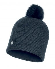 Шапка Buff KNITTED & POLAR HAT DISA BLACK (US:one size)